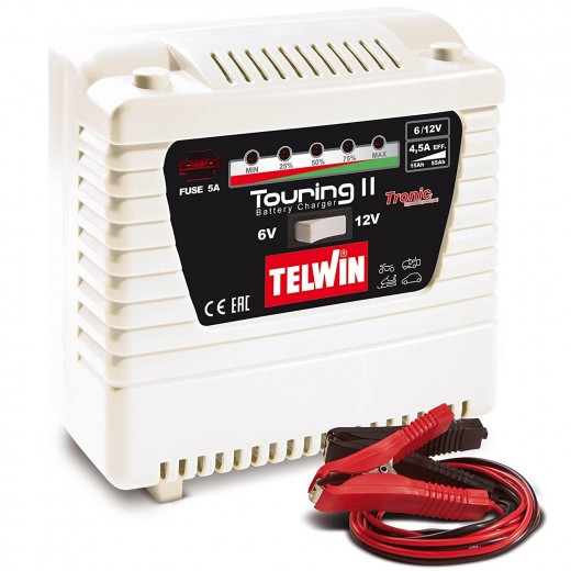 TELWIN TOURING 11 807591 30-50AH 6V/ 12V