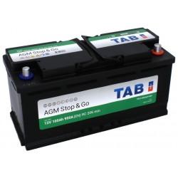 ΜΠΑΤΑΡΙΑ TAB AG105 AGM STOP&GO 12V 105AH ΕΥΡΩΠΑΙΚΟΥ ΤΥΠΟΥ