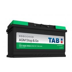 ΜΠΑΤΑΡΙΑ TAB AG95 AGM STOP&GO 12V 95AH ΕΥΡΩΠΑΙΚΟΥ ΤΥΠΟΥ