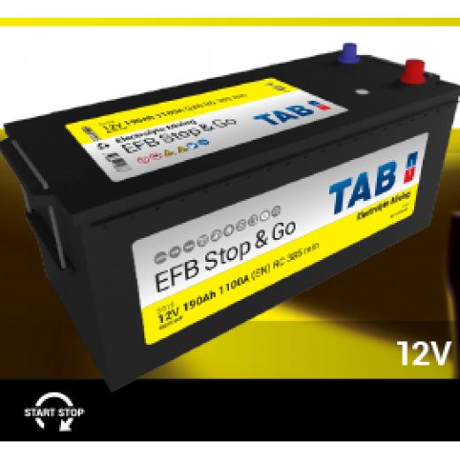 ΜΠΑΤΑΡΙΑ TAB EFB STOP&GO 190AH 1100A SG19