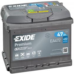 ΜΠΑΤΑΡΙΑ EXIDE Premium EA472 12V 47AH ΕΥΡΩΠΑΙΚΟΥ ΤΥΠΟΥ