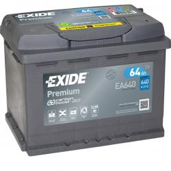 ΜΠΑΤΑΡΙΑ EXIDE Premium EA640 12V 64AH ΕΥΡΩΠΑΙΚΟΥ ΤΥΠΟΥ