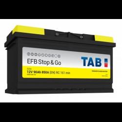 ΜΠΑΤΑΡΙΑ TAB SG90 EFB STOP&GO 90AH 850A  ΕΥΡΩΠΑΙΚΟΥ ΤΥΠΟΥ