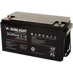 ΜΠΑΤΑΡΙΑ VRLA SUNLIGHT AccuForce 12-65 12V 65Ah